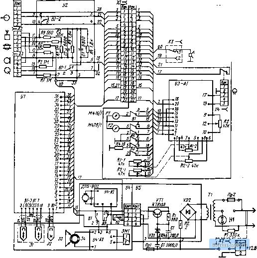 Качер генератор схема.