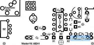 3. Печатная плата металлоискателя.